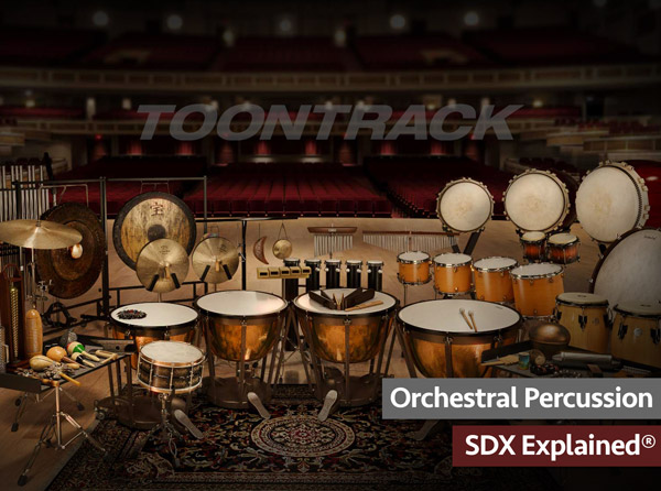 Orchestral Percussion SDX Explained