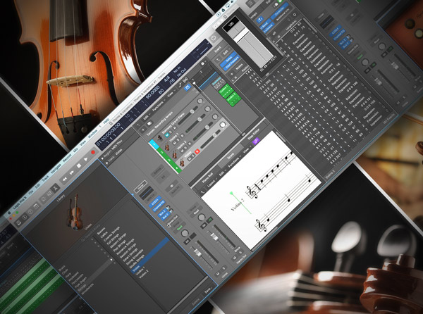 Orchestrating in Logic Pro X
