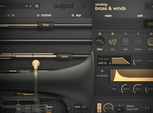 Output Analog Brass & Winds Explained