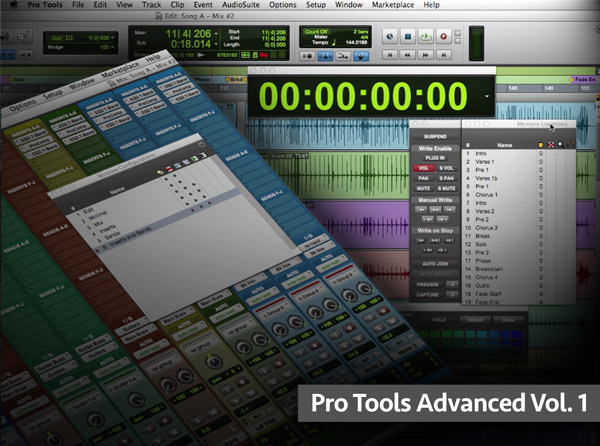 Pro Tools Advanced Vol 1