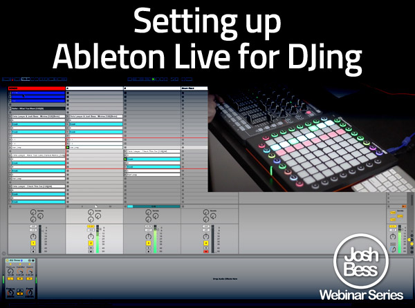 Setting Up Ableton Live for DJing