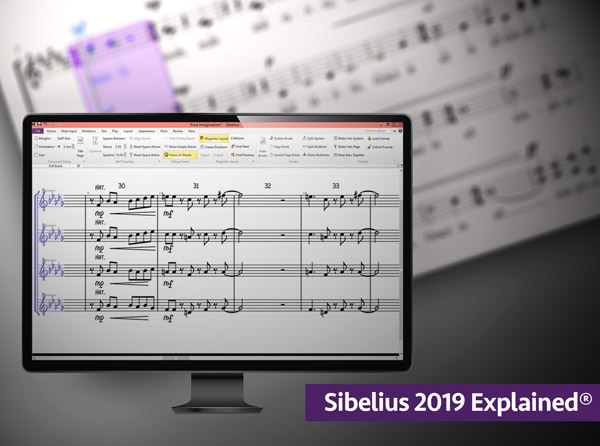 Sibelius 2019 Tutorials - Learn Important Fundamental Features and