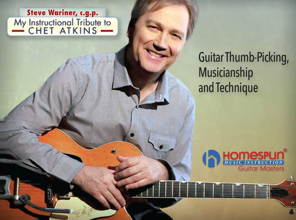 Steve Wariner - My Instructional Tribute to Chet Atkins