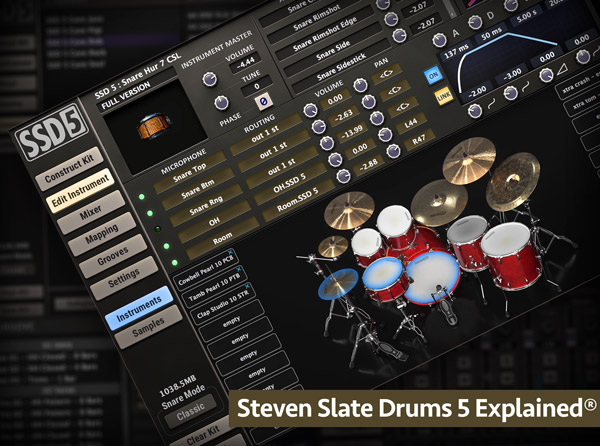 Steven Slate Drums 5 Explained