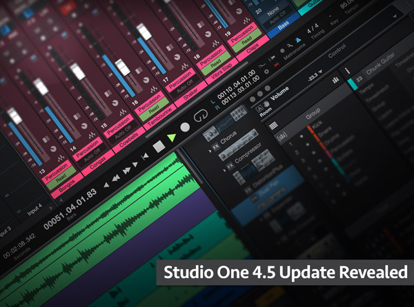 Studio One 4.5 Update Revealed