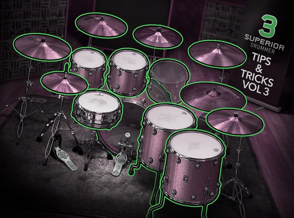 Superior Drummer 3 Tips & Tricks Vol 3