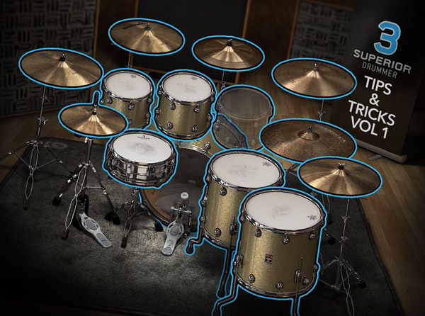 Superior Drummer 3 Tips & Tricks Vol 1