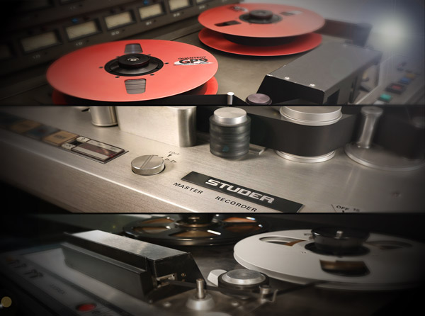 T-RackS Tape Machine Collection Explained