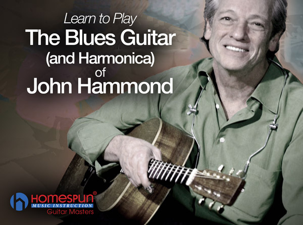 The Blues Guitar & Harmonica of John Hammond