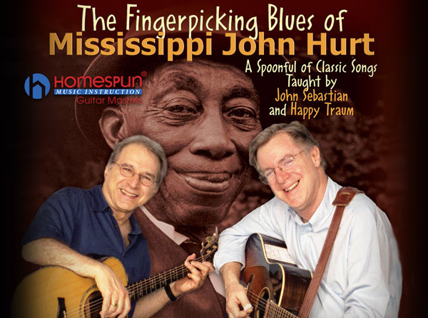 The Fingerpicking Blues of Mississippi John Hurt Video Tutorial Series