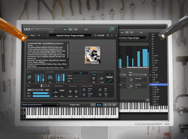 UVI Workstation Jump Start - Groove3 com Video Tutorial