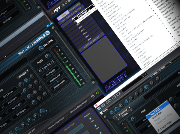 Using Audio Units in a VST Environment