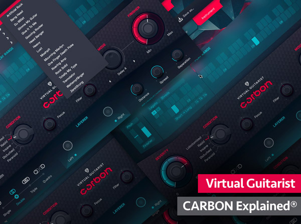 Virtual Guitarist CARBON Explained