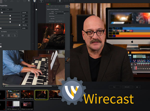 Wirecast: Getting Started