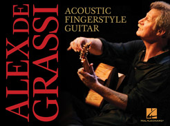 Alex de Grassi - Acoustic Fingerstyle Guitar - Tutorial Video