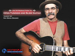 An Introduction to Open Tunings and Slide Guitar - Tutorial Video