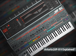 Arturia Jup-8 V Explained - Tutorial Video