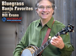 Bluegrass Banjo Favorites - Tutorial Video