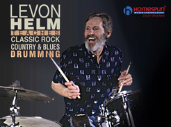 Levon Helm Teaches Classic Rock, Country & Blues Drumming - Tutorial Video