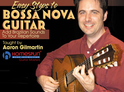 Easy Steps to Bossa Nova Guitar - Tutorial Video