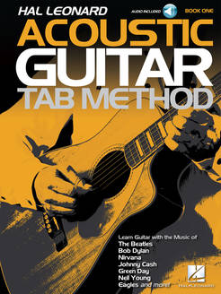 Hal Leonard Acoustic Guitar Tab Method - Book 1 (Audio) - Tutorial Video