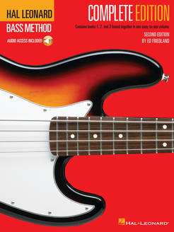 Hal Leonard Bass Method: Complete Edition (audio) - Tutorial Video