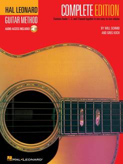 Hal Leonard Guitar Method Complete Edition with Audio - Tutorial Video
