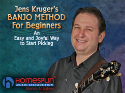Jens Kruger Banjo Method for Beginners - Tutorial Video