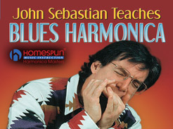 John Sebastian Teaches Blues Harmonica - Tutorial Video