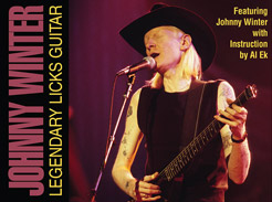 Johnny Winter - Legendary Licks Guitar - Tutorial Video