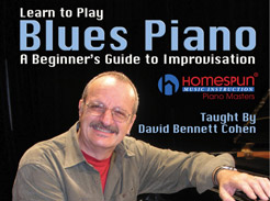 Learn to Play Blues Piano - Tutorial Video