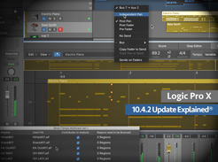 Logic Pro X 10.4.2 Update Explained - Tutorial Video
