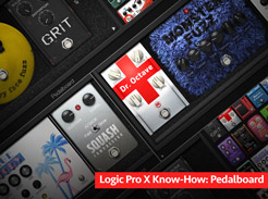 Logic Pro X Know-How: Pedalboard - Tutorial Video
