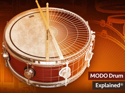 MODO Drum Explained - Tutorial Video