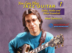 Mike Demicco - You Can Play Jazz Guitar Vol. 1 - Tutorial Video