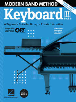 Modern Band Method - Keyboard Book 1 - Tutorial Video