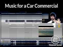 Music for a Car Commercial - Tutorial Video