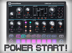 Novation Circuit Mono Station Power Start - Tutorial Video