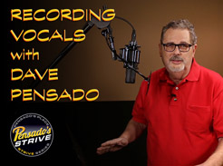 Recording Vocals with Dave Pensado - Tutorial Video