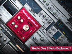 Studio One Effects Explained - Tutorial Video