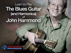 The Blues Guitar & Harmonica of John Hammond - Tutorial Video