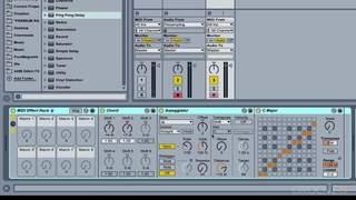 MIDI Effect Racks