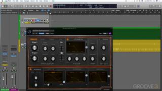 Record Synth Controls