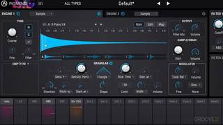 The Sample Engine: Granular Synthesis & Shaper Modes